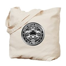 US Navy Chiefs Skull and Bones Tote Bag