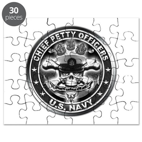 US Navy Chiefs Skull and Bones Puzzle