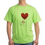 i-love-beer-pong-3-dark.png Green T-Shirt
