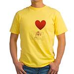 i-love-beer-pong-3-dark.png Yellow T-Shirt