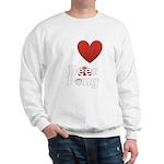 i-love-beer-pong-3-dark.png Sweatshirt