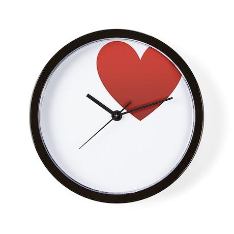 i-love-cheesecake-dark.png Wall Clock