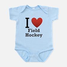 i-love-field-Hockey-light-tee.png Infant Bodysuit