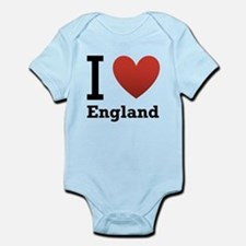 i-love-england-light-tee.png Infant Bodysuit