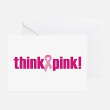 Think Pink! Greeting Cards (Pk of 10)