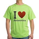 i-love-antartica-light-tee.png Green T-Shirt
