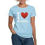 I-love-Austin.png Women's Light T-Shirt