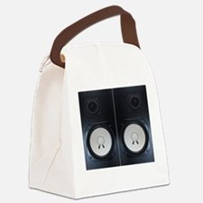 Vintage Speakers Canvas Lunch Bag