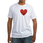 i-love-my-sister.png Fitted T-Shirt