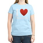 i-love-chocolate.png Women's Light T-Shirt