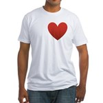i-love-chocolate.png Fitted T-Shirt
