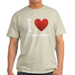 i-love-chocolate.png Light T-Shirt