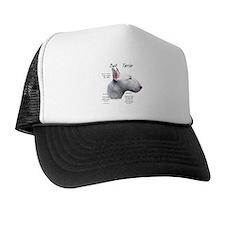 White Bull Terrier Trucker Hat