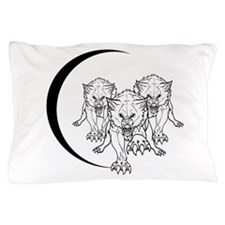 Wolf Pack Vector Pillow Case