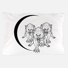 Wolf Pack Vector Pillow Case