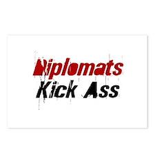 Diplomats Kick Ass Postcards (Package of 8)