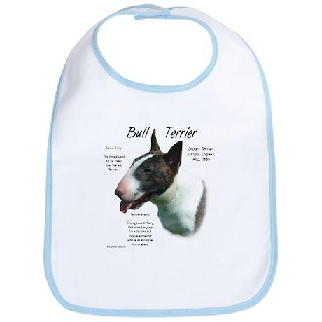 Colored Bull Terrier Bib