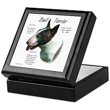 Colored Bull Terrier Keepsake Box