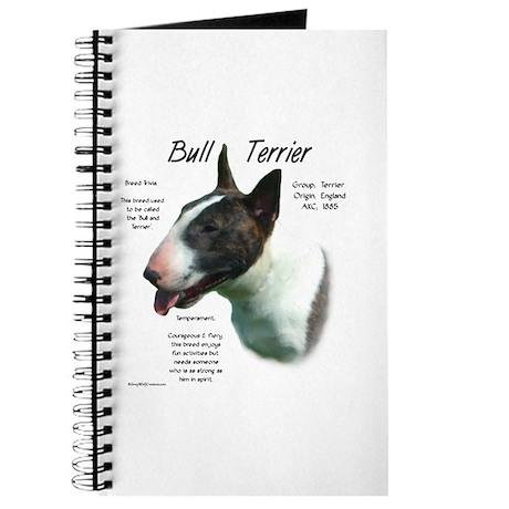 Colored Bull Terrier Journal