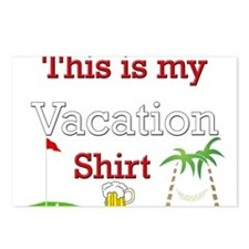 this-is-my-vacation.png Postcards (Package of 8)