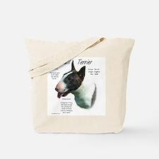 Colored Bull Terrier Tote Bag