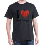 i-love-san-diego.png Dark T-Shirt