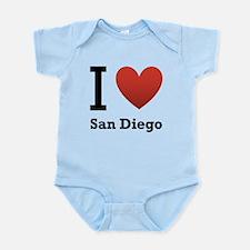 i-love-san-diego.png Infant Bodysuit