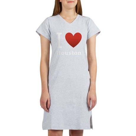 i-love-houston2.png Women's Nightshirt