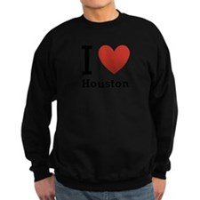 i-love-houston.png Sweatshirt