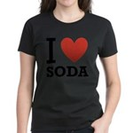 i-love-soda.png Women's Dark T-Shirt