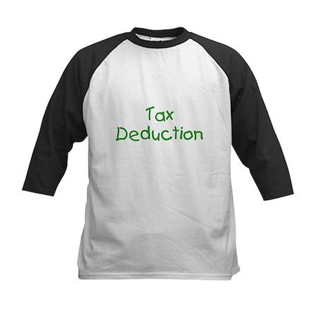 Tax Deduction Kids Baseball Jersey