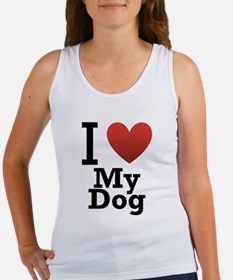 i-love-my-dog.png Women's Tank Top