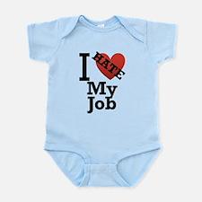 I-Hate-my-job.png Infant Bodysuit