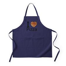 IHeartpizza.png Apron (dark)