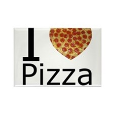 IHeartpizza.png Rectangle Magnet