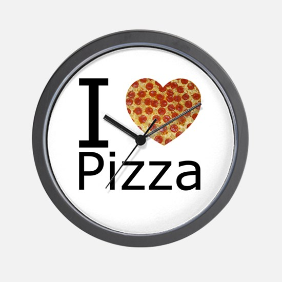 IHeartpizza.png Wall Clock