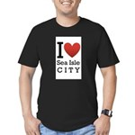 sea isle city rectangle.png Men's Fitted T-Shirt (