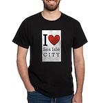 sea isle city rectangle.png Dark T-Shirt
