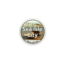 sea isle city rectangle.png Mini Button