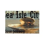 sea isle city rectangle.png Rectangle Magnet (10 p