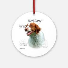 Brittany Ornament (Round)