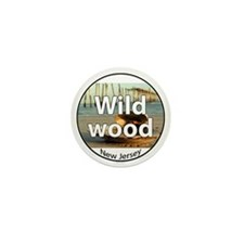 wildwood rectangle.png Mini Button (10 pack)