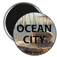 """I <3 Ocean City 2.25"""" Magnet (10 pack)"""
