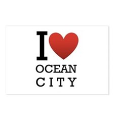 I <3 Ocean City Postcards (Package of 8)