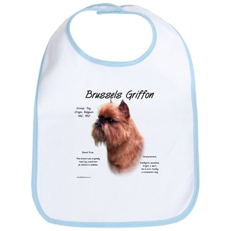 Rough Brussels Griffon Bib