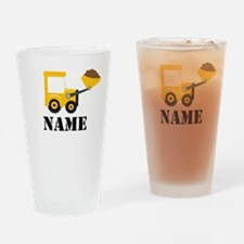 Personalized Digger Drinking Glass