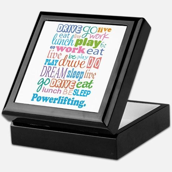 Powerlifting Keepsake Box