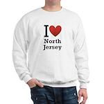 i love north jersey.png Sweatshirt