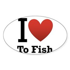 i love to fish.png Decal