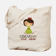 Personalized Library Lady Tote Bag